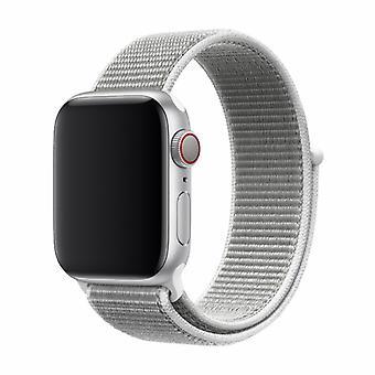 Kompatibel med Apple Watch 38/40MM Strap Grey - Nylon