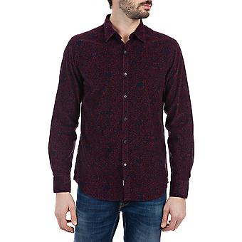 Replay Men's All-Over Print Shirt