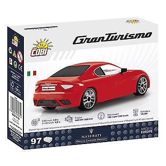 Cobi Maserati Gran Turismo Sportwagen Kinder Blöcke Ziegel 97Pc kompatibel Alter 5+