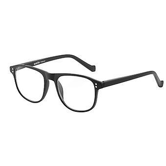 Gafas de lectura Unisex Le-0196A Pablo fuerza negra +3.00