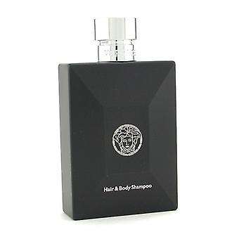 Versace Pour Homme Hair & Body Shampoo 250ml/8.3oz