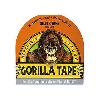 Gorilla Glue Gorilla Tape Silver 48mm x 32m GRGSITAPE48