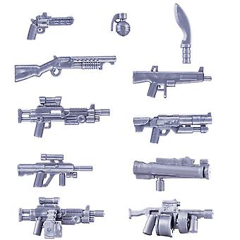 Small Particle Military Building Block Weapon Toy