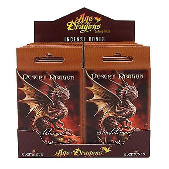 Age Of Dragons Desert Dragon Incense Cones (12 Packs Of 15)