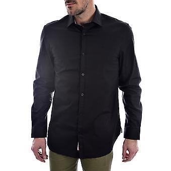 Gissa Klassisk alameda skjorta - svart