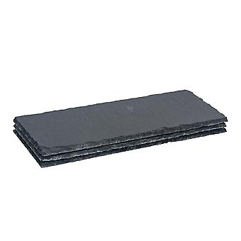 Slate Food / Antipasti Serving / Starter / Side Plate - 290x120mm - Pack van 3