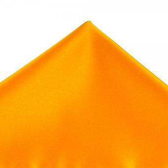Legături Planet Plain Burnt Orange Gold Pocket Square Batista