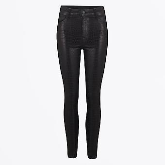 J Brand - Leenah High Rise Skinny Ankle Coated Jeans - Kaaiman Print