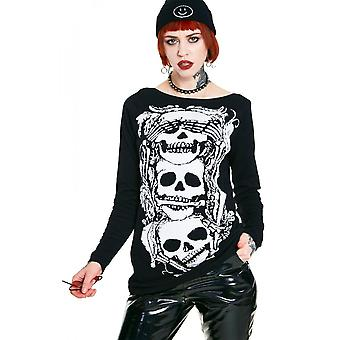 Jawbreaker Clothing No Evil Knit Sweatshirt