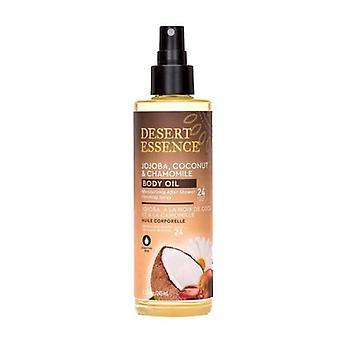 Desert Essence Jojoba - Coconut & Chamomile Body Oil Spray, 8.28 Oz