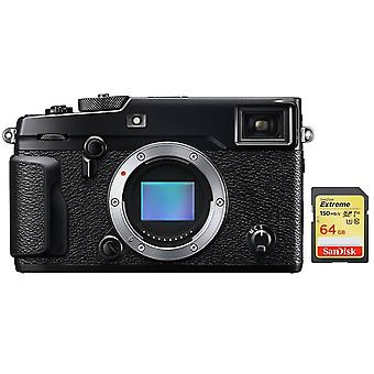 FUJIFILM X-PRO 2 Body Black + cartão SD de 64GB