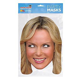 Masque-arade Amanda Holden Célébrités Party Face Mask