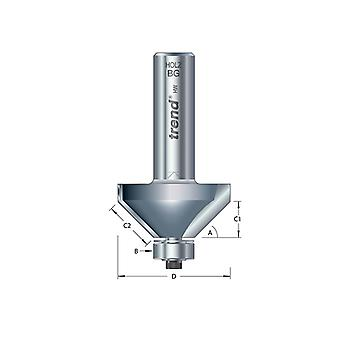 Trend 46/38 x 1/2 TCT Bearing Guided Chamfer 45° 50 x 19mm TRE463812TC