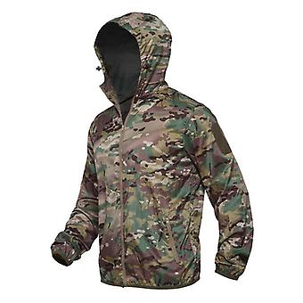 Tactical Windbreaker, Military Camouflage Jacket