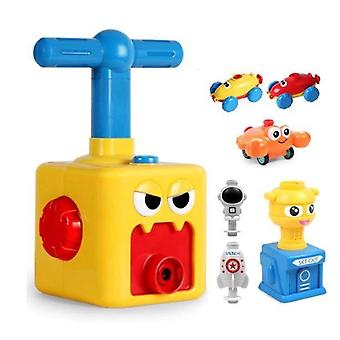 Kids Education Inertia Air Power Balloon, Car Science Experiment Toy