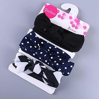 Fashion Baby Nylon Bow, Headband, Newborn Bowknot