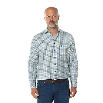 Camisa de verificação de manga longa sullivan