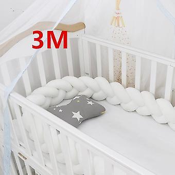 Baby Bett Stoßfänger in der Krippe für Neugeborene, Kissen Kissen Kinderbett Zimmer Dekor Säugling
