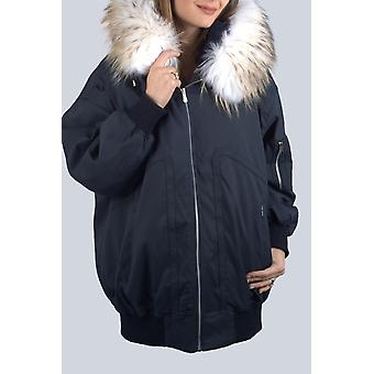 Parka Blue Marine Sam-rone Woman