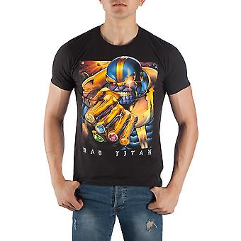 Thanos the mad titan men's black t-shirt tee shirt