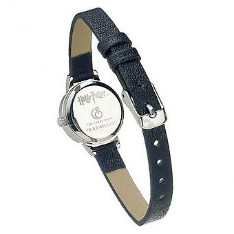 Harry Potter Womens/Ladies Deathly Hallows Faux Leather Watch