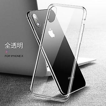 Ultra dünne schlanke klare weiche Tpu Funda transparente Fall für Iphone