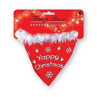 Vianočný pes bandana golier