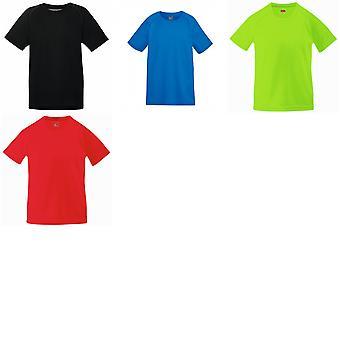 פרי האורגים ילדים בגדי ביצועים עם חולצת טריקו (חבילת 2)