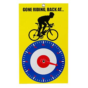Gone Riding Clock Face - Roundel