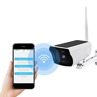 1080P HD WIFI Solar Security IP Camera Night Vision Wireless PIR Motion Alarm IP67