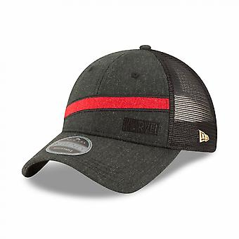 Marvel Brand Heather Brick New Era 9Twenty Chapeau camionneur réglable