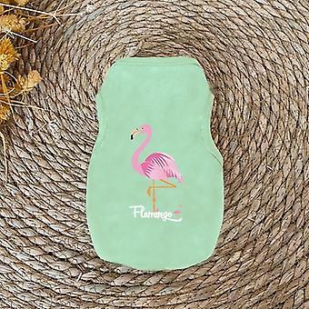Pet Flamingo Printed Dog Vest