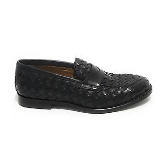 Men's Elite Men's Moccastic Weave Black Color Us21el08