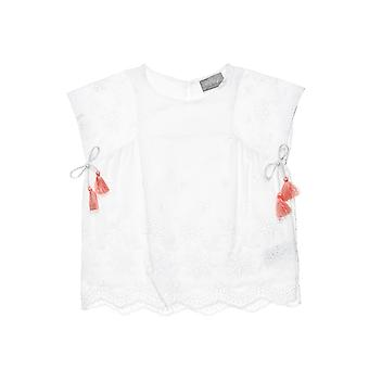 Alouette Girls' T-Shirt With Bows