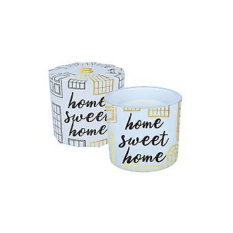 Bomb Cosmetics Wrapped Candle - Home Sweet Home