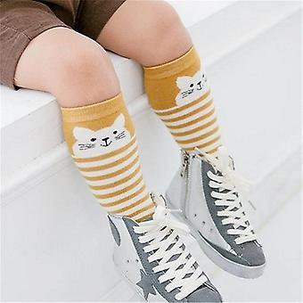 Vastasyntyneet sukat eläin kuvio liukastumiseneste polven korkea sukka
