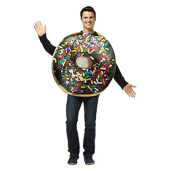 Adult Doughnut Food Donut Novelty Funny Fancy Dress Costume