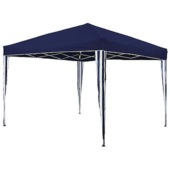 HI Foldable Marquee 3 x 3 m Blue