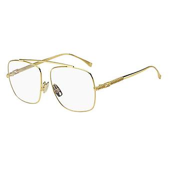 Fendi FF0445 001 Keltaiset kultalasit