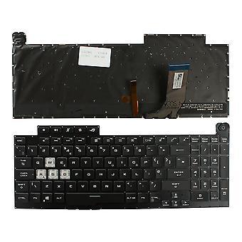 Asus V185062BE1 Hinterleuchtet schwarz Windows 8 UK Layout Ersatz Laptop-Tastatur