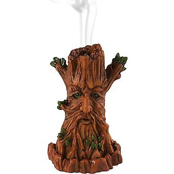 Tree Man Incense Cone Holder by Lisa Parker