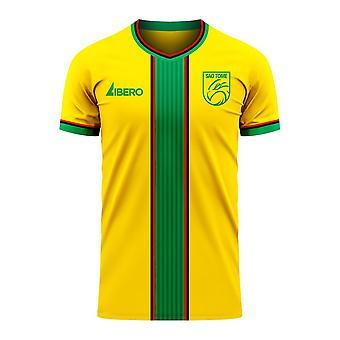 Sao Tome and Principe 2020-2021 Home Concept Football Kit (Libero)