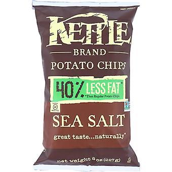 Kettle Foods Chip Pto Seaslt, Case of 12 X 8 Oz