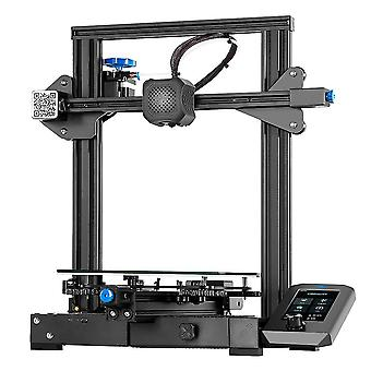 CREALITY طابعة 3D إندر-3 V2 مع TMC2208 برامج تشغيل السائر UI&4.3 بوصة LCD اللون مع 1m