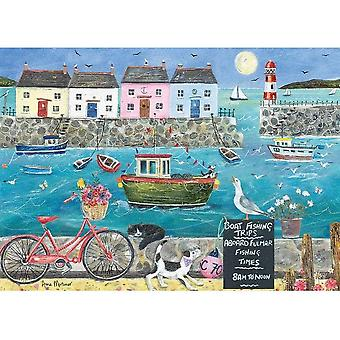 Otter House Harbourside Jigsaw Puzzle (1000 Pieces)