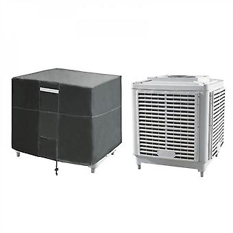 Mimigo Air Conditioner Covers For Outside Units, Central Ac Covers For Outside Square , Waterproof, Dust-proof And Windproof Durable Ac Unit Cover,bla