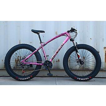 Fed cykel, dæk udvidet, sne og strand, mountainbike
