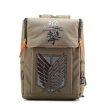 Attack On Titan Allen Investigation Corps Backpack Travel Anime Bags