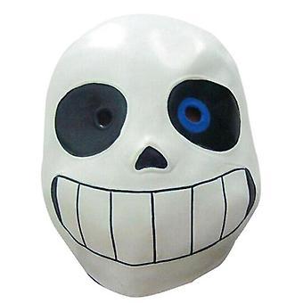 Sans undertale Cosplay Hoodies Latex Maske frische Skelett Jacke sans plus Samt Kapuze Reißverschluss Pullover 2019 Halloween Kostüm