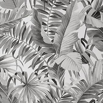 Fine Decor Maui Mono Wallpaper FD42852